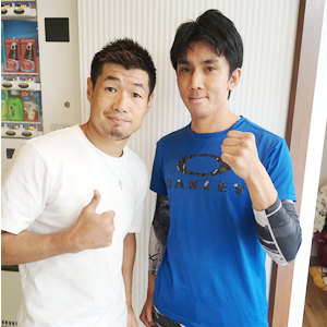 ボクシング元三階級世界王者長谷川穂積様の推薦